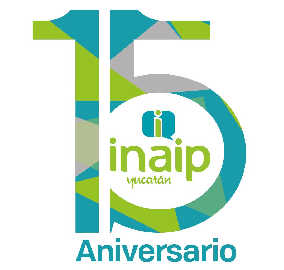 Logotipo INAIP 15 Aniversario